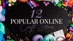 popular craft stores