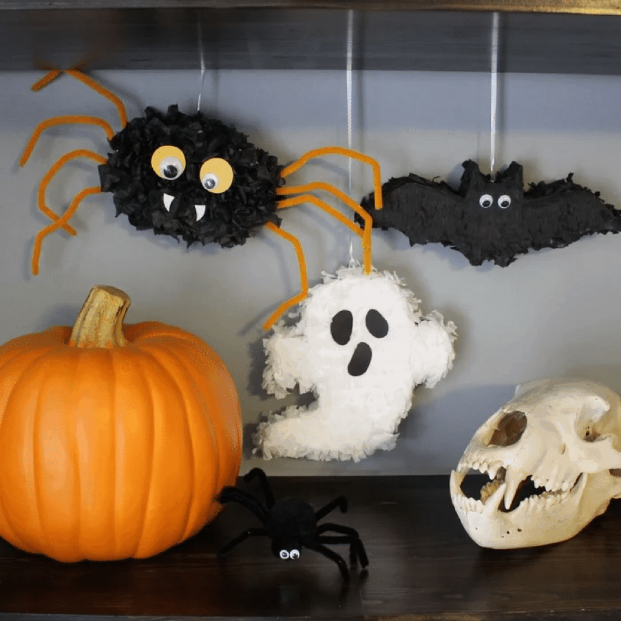 mini halloween pinatas
