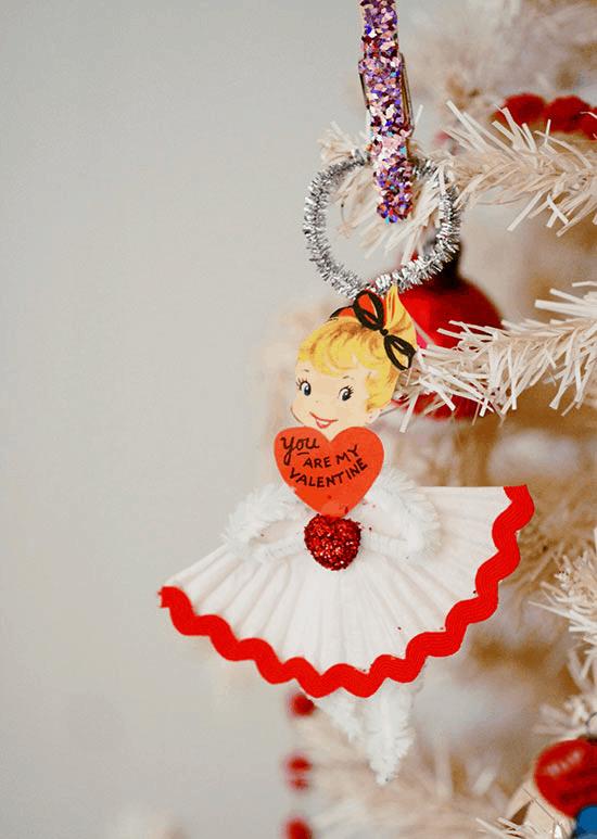 valentines day craft doll