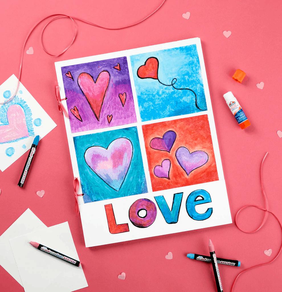 jumbo valentines day card