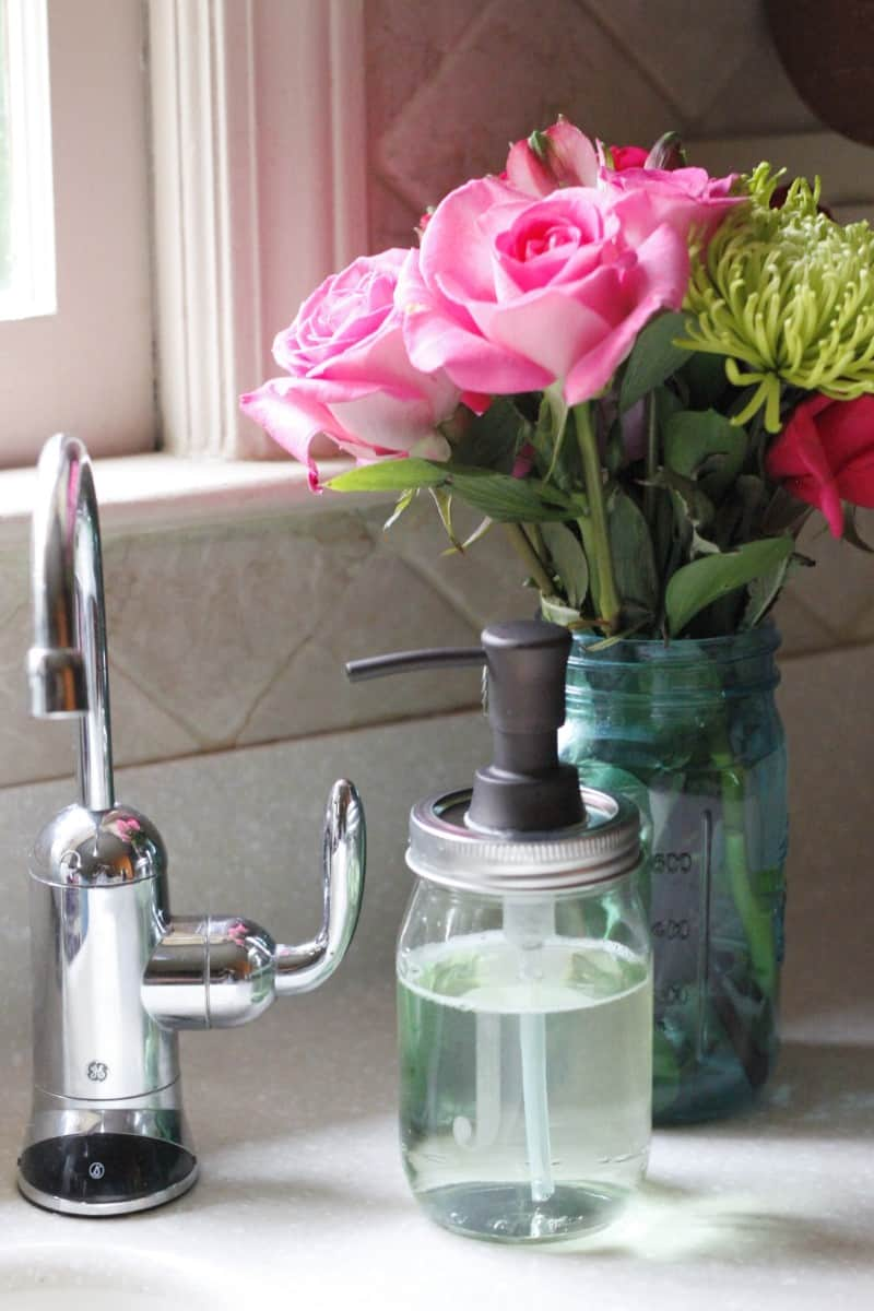 mason jar soap dispenser 9 blog140604